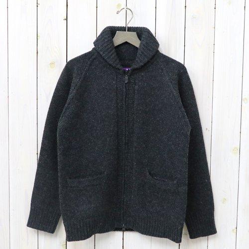『Shawl Collar Cardigan』(Charcoal)