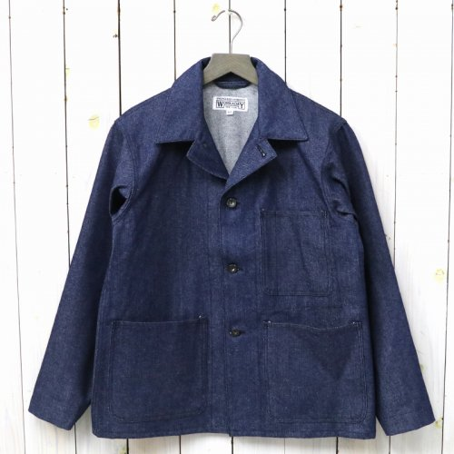 『Utility Jacket-12oz Denim』