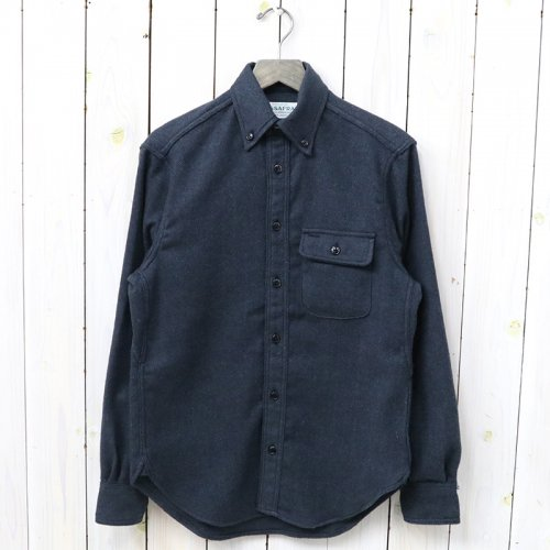 『GREEN THUMB SHIRT(T/C HERRINGBONE FLANNEL)』(NAVY)