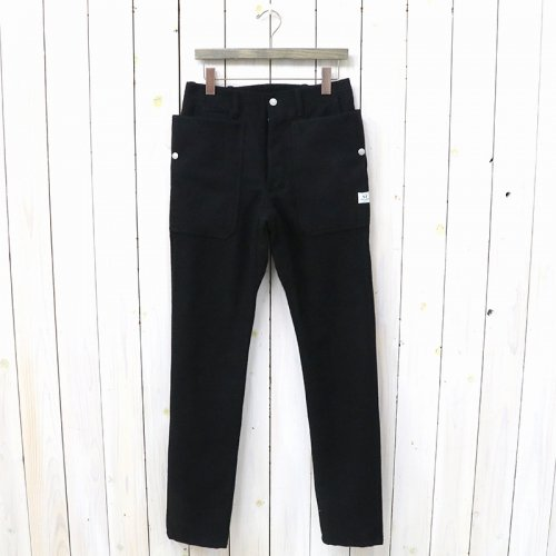 SASSAFRAS『FALL LEAF SPRAYER PANTS(BLANKET)』(BLACK)