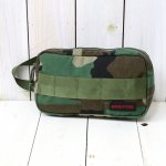 BRIEFING『ONE ZIP POUCH』(WOODLAND CAMO)