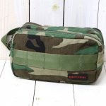 BRIEFING『DOUBLE ZIP POUCH-2』(WOODLAND CAMO)