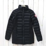 CANADA GOOSE『BROOKVALE HOODED COAT』(BLACK)