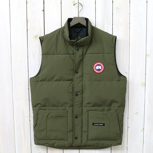 『FREESTYLE CREW VEST』(MILITARY GREEN)