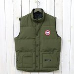 CANADA GOOSE『FREESTYLE CREW VEST』(MILITARY GREEN)