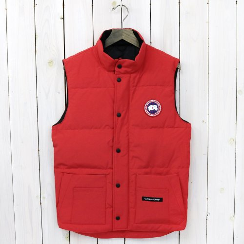 『FREESTYLE CREW VEST』(RED)