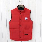 CANADA GOOSE『FREESTYLE CREW VEST』(RED)