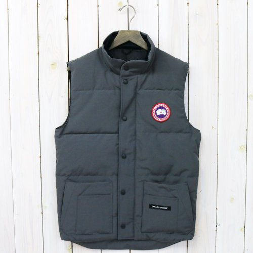 『FREESTYLE CREW VEST』(GRAPHITE)