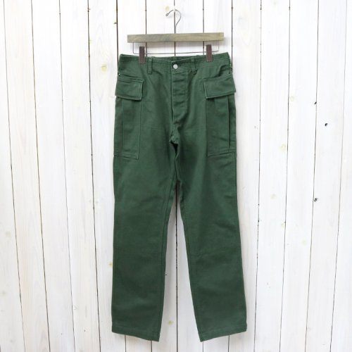 『ROOTER PAD PANTS(DRILL)』(OLIVE)