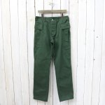 SASSAFRAS『ROOTER PAD PANTS(DRILL)』(OLIVE)
