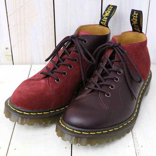 『EG Special-Church Lace Low Boot/Suede Combo』(Burgundy)