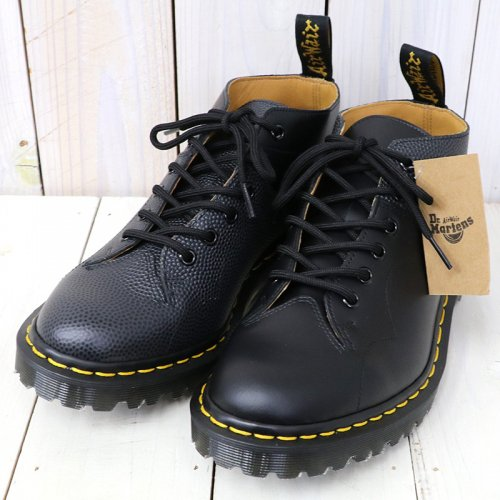 『EG Special-Church Lace Low Boot/Scotch Grain Combo』(Black)