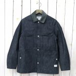 SASSAFRAS『GREEN THUMB JACKET+(8oz DENIM)』(INDIGO)