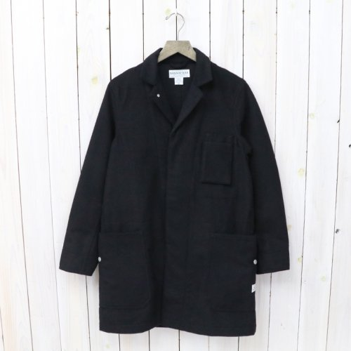 『WHOLE LEAF COAT(BLANKET)』(BLACK)