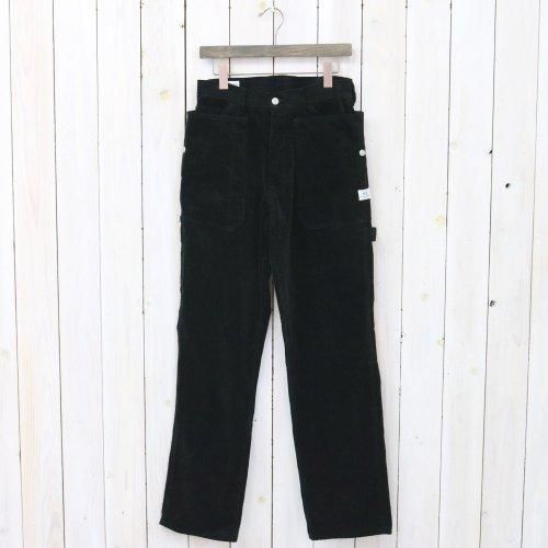 『FALL LEAF GARDENER PANTS(CORDUROY)』(BLACK)