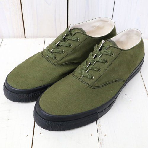 『WAKOUWA DECK SHOES LOW』(OLIVE)