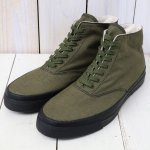 ANATOMICA『WAKOUWA DECK SHOES HI』(OLIVE)