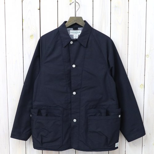 『WHOLE HOLE JACKET(MEMORY OXFORD)』(NAVY)