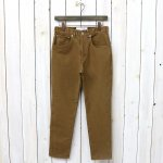 CURLY『NAUGHTY 5P JEANS』(DK.BEIGE)
