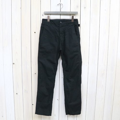 『Ground Pant-Cotton Ripstop』(Black)