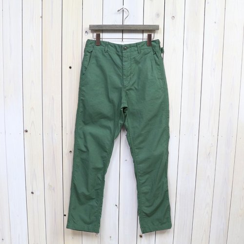 『Ground Pant-Cotton Ripstop』(Lt.Olive)