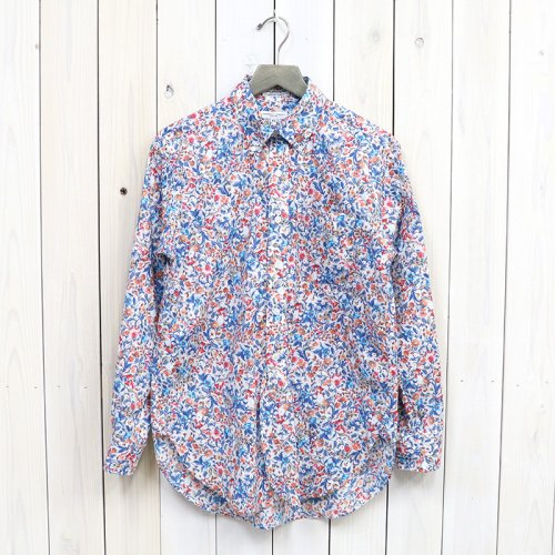 『19th BD Shirt-Garden Floral Lawn』(Lt.Grey)