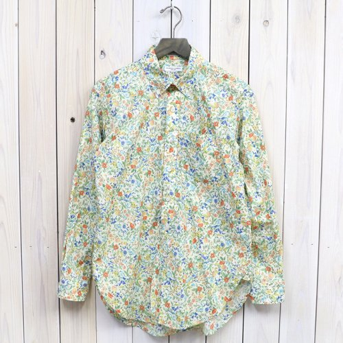 『19th BD Shirt-Garden Floral Lawn』(Lt.Yellow)