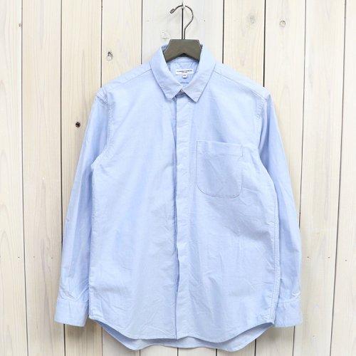 『Short Collar Shirt-Solid Cotton Oxford』(Lt.Blue)