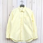 ENGINEERED GARMENTS『Short Collar Shirt-Solid Cotton Oxford』(Yellow)