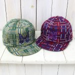 Needles『Trucker Cap-Poly Jacquard/Block』