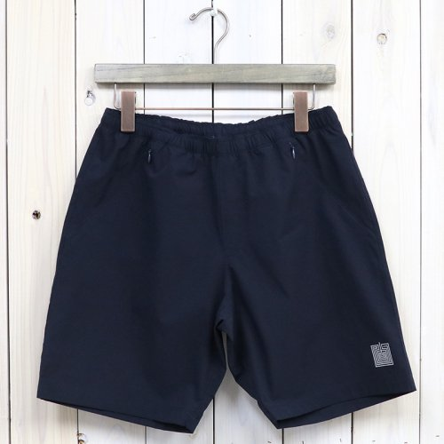 『Warm-up Short-Poly Ripstop』(Navy)