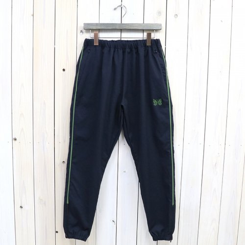 『Side Line Seam Pocket Easy Pant-Poly Smooth』(Navy)