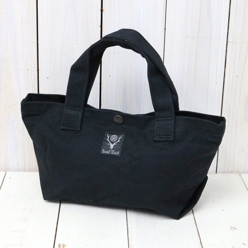 SOUTH2 WEST8『Mini Tote-Cotton Canvas/Paraffin Coating』(Black)