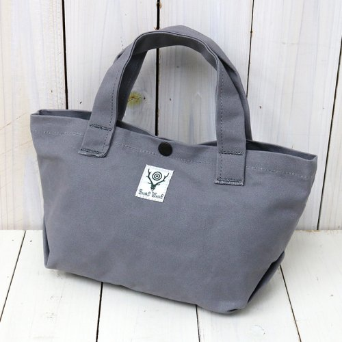 『Mini Tote-Cotton Canvas/Paraffin Coating』(Grey)