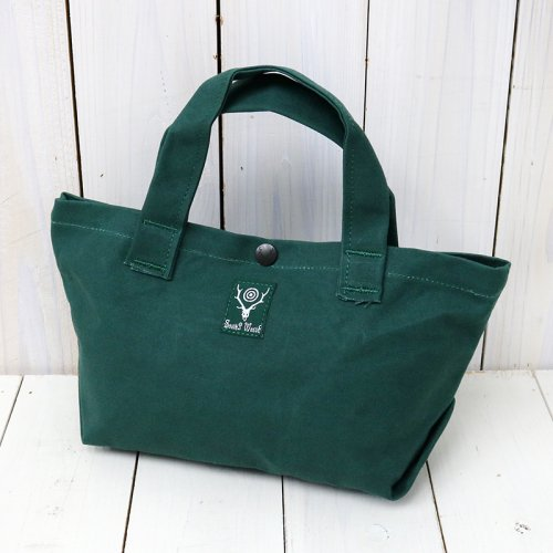 『Mini Tote-Cotton Canvas/Paraffin Coating』(Green)