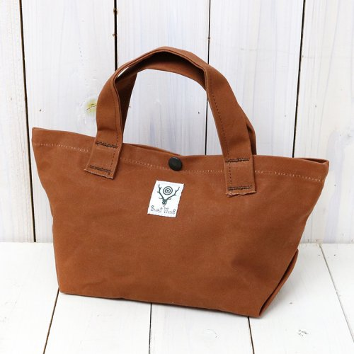 『Mini Tote-Cotton Canvas/Paraffin Coating』(Brown)