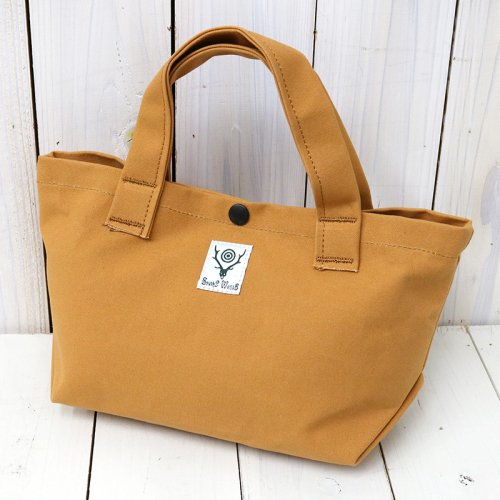 『Mini Tote-Cotton Canvas/Paraffin Coating』(Suntan)