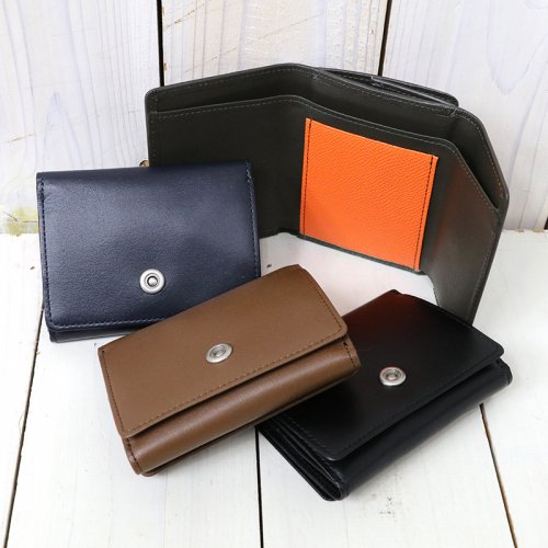 『Cow Leather Trifold Wallet』