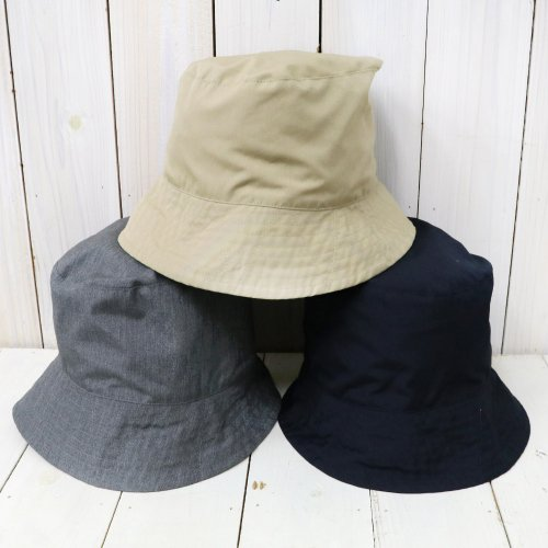 『Bucket Hat-PC Poplin』