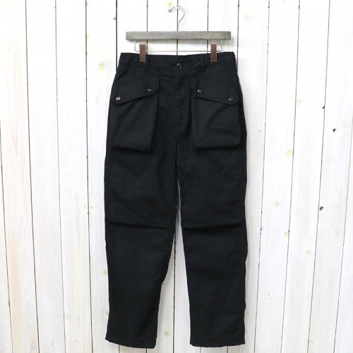 『Norwegian Pant-Cotton Ripstop』(Black)