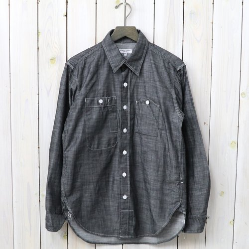 『Work Shirt-Lt.Weight Denim』(Black)