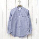 ENGINEERED GARMENTS『Banded Collar Shirt-Lt.Weight Cotton Chambray』
