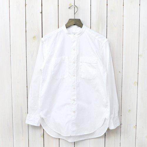 『Banded Collar Shirt-Superfine Poplin』
