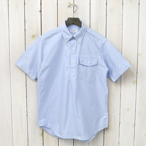 『Pop Over BD Shirt-Solid Cotton Oxford』(Lt.Blue)