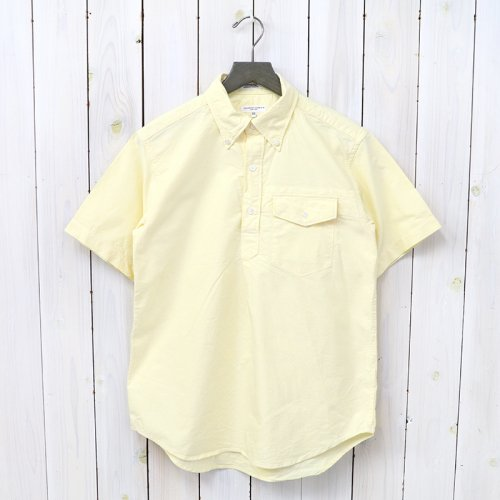『Pop Over BD Shirt-Solid Cotton Oxford』(Yellow)