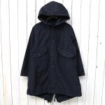 ENGINEERED GARMENTS『Highland Parka-Memory Polyester』(Dk.Navy)
