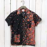 FWK by ENGINEERED GARMENTS『Camp Shirt-Big Floral Lawn』(Red/Black)