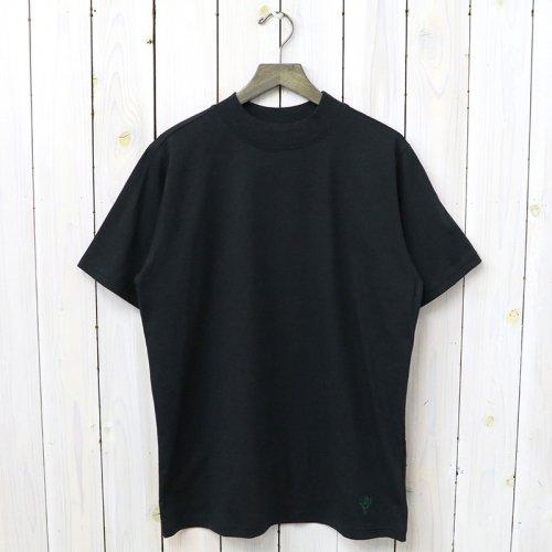 『Mock Neck S/S Tee-Cordura Jersey』(Black)