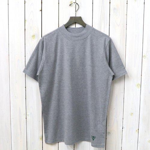 『Mock Neck S/S Tee-Cordura Jersey』(Grey)