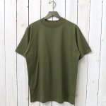 SOUTH2 WEST8『Mock Neck S/S Tee-Cordura Jersey』(Olive)
